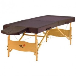 Table de massage TAOline AYURVEDA chocolat Extra Large