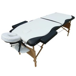 Table de massage, spa pliante bois