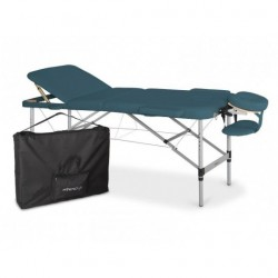 Table de massage en aluminium professionnelle Athéna